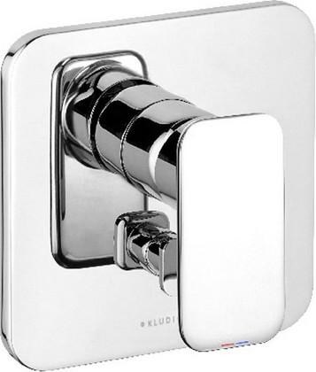 Встраиваемый однорычажный смеситель для ванны, хром Kludi E2 496500575