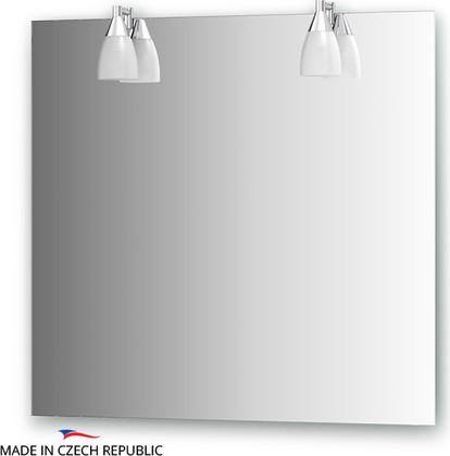 Зеркало со светильниками 80х75см Ellux ROM-A2 0211