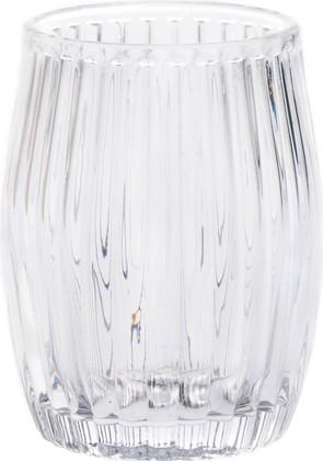 Стакан стеклянный прозрачный Spirella Quartz 4007331