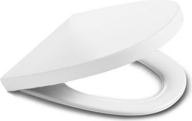"""Сиденье и крышка с механизмом """"мягкое закрывание"""" для унитаза, белый Roca KHROMA 801652004"""