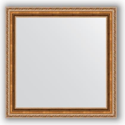 Зеркало в багетной раме 65x65см версаль бронза 64мм Evoform BY 3143