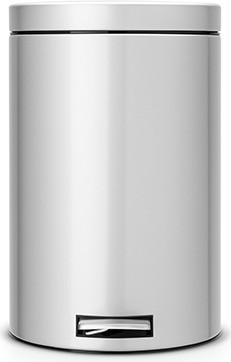 Мусорный бак с педалью 20л серый металлик Brabantia 482748