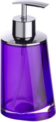Ёмкость для жидкого мыла пурпурная Wenko Paradise 20241100