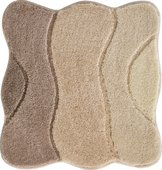 Коврик для ванной Grund Curts, 60x60см, полиакрил, бежевый 2570.64.307