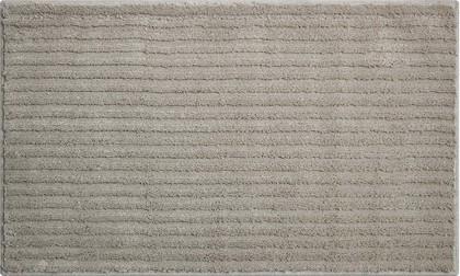Коврик для ванной Grund Riffle, 60x100см, полиэстер, серый b4001-166303