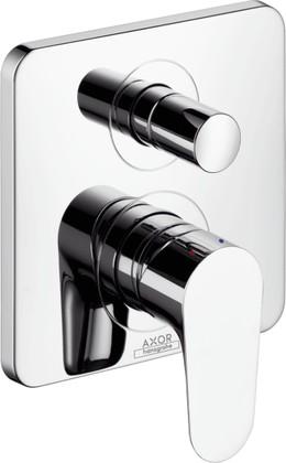Смеситель для ванны однорычажный встраиваемый без встраиваемого механизма и без излива, хром Hansgrohe AXOR Citterio M 34425000