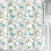 Штора для ванной Spirella Papillons, 240x180см, тестиль, мультиколор 1019258