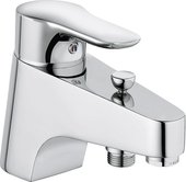 Смеситель однорычажный на одно отверстие на бортик ванны, хром Kludi OBJEKTA 326850575