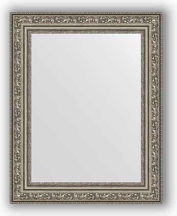Зеркало в багетной раме 40x50см виньетка состаренное серебро 56мм Evoform BY 3008