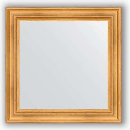 Зеркало в багетной раме 82x82см травленое золото 99мм Evoform BY 3251