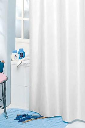 Штора для ванной Grund Madison, 180x200см, текстиль, белый 346.98.032