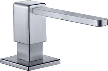 Дозатор жидкого моющего средства встраиваемый, нержавеющая сталь матовой полировки Blanco LEVOS 517587