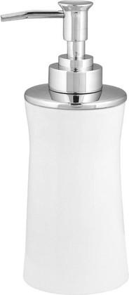 Ёмкость для жидкого мыла белая Spirella Malibu 1001765