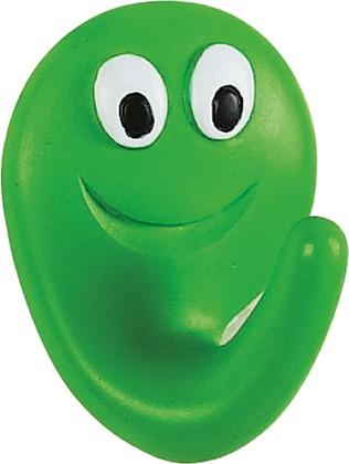 Крючок самоклеящийся 2шт зелёный Spirella Smile 1006759