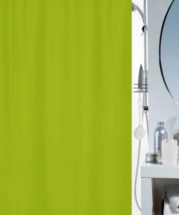 Штора для ванной комнаты 180x200 текстильная, киви Spirella ATLAS 4005709