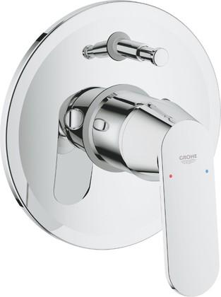 Смеситель для ванны Grohe Eurosmart Cosmopolitan встраиваемый, однорычажный, со встроенной частью, хром 32879000