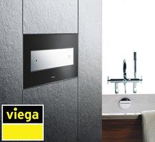 Дизайн и цвет кнопок смыва Viega делают жизнь ярче
