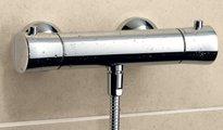 Термостат для душа с подключением шланга, хром Kludi BALANCE 352500575