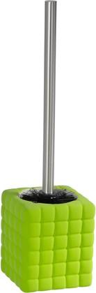 Ёрш для туалета с подставкой, зелёный Wenko Cube 20456100