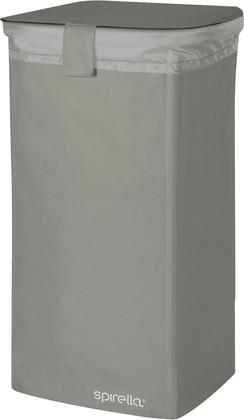 Корзина для белья 75л серая Spirella CLASSIC-XXL 1017864