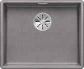 Кухонная мойка Blanco Subline 500-F, отводная арматура, алюметаллик 523534