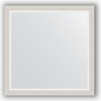 Зеркало 62x62см в багетной раме алебастр Evoform BY 0776