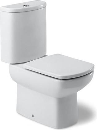 Чаша напольного унитаза керамическая белая с двойным выпуском Roca DAMA SENSO 342517000