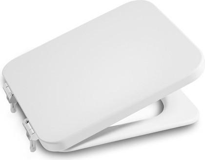 Сиденье для унитаза с крышкой и системой плавного опускания Roca ELEMENT 801572004