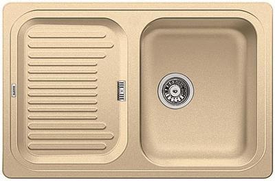 Кухонная мойка с крылом оборачиваемая, гранит шампань Blanco CLASSIC 45 S 521312
