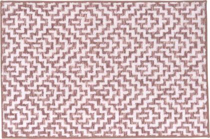 Коврик для ванной Kleine Wolke Botany Pastellrose, 70x120см, хлопок, розовый 9125413225