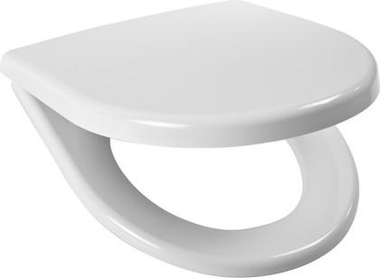 Сиденье для унитаза с крышкой, белое Jika Lyra Plus 933803000639