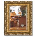 Зеркало 45x55см с фацетом 30мм в багетной раме виньетка бронзовая Evoform BY 1372
