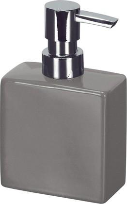 Ёмкость для жидкого мыла керамика, серый Kleine Wolke Flash 5045901849