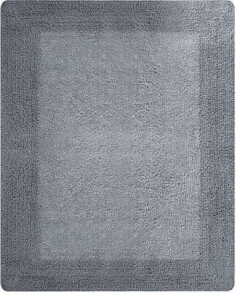 Коврик для ванной двухсторонний 55x65см серый Spirella GAIA 1018047