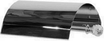 Держатель туалетной бумаги с крышкой, хром с кристаллом swarovski TW Crystal TWCR219cr-sw