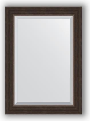 Зеркало 51x71см с фацетом 25мм в багетной раме палисандр Evoform BY 1124