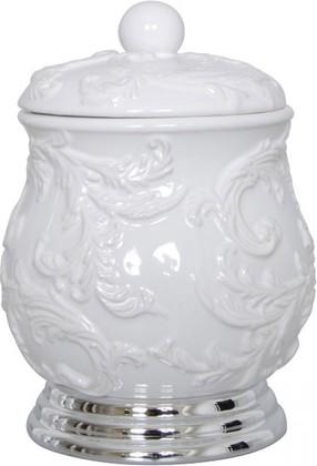 Диспенсер для ватных шариков, дисков белый Spirella Mylene 4006896