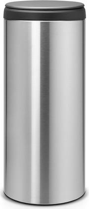 Мусорный бак 30л, матовая сталь Brabantia FlipBin 106965