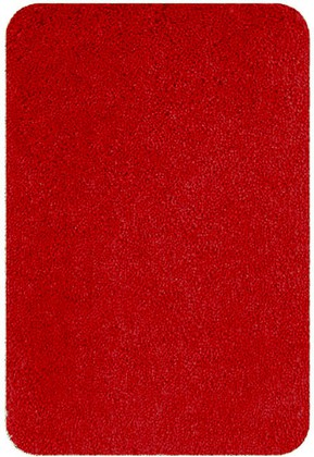 Коврик для ванной 60x90см красный Spirella HIGHLAND 1013073