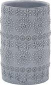 Стакан для зубных щёток Spirella Relief, серый 1019919