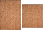 Набор ковриков для ванной Grund Kamni, 50x80см, 50x55см, полиэстер, бежевый b2699-155106173/060106173
