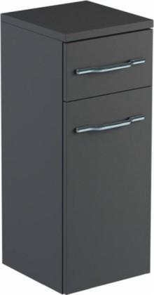 Шкаф средний 30см подвесной, 1 дверь, 1 ящик, левый 30х32х74см Verona Area+ AA402L
