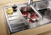 Кухонная мойка оборачиваемая с крылом, нержавеющая сталь полированная Blanco Livit 6 S Compact 515117