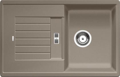 Кухонная мойка оборачиваемая с крылом, гранит, серый беж Blanco Zia 45 S 517416