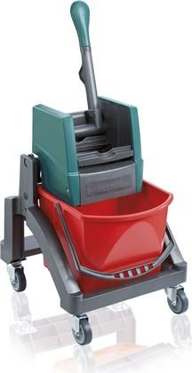 Комплект для уборки (подставка на колесах и ведро с отжимом) Leifheit 59102