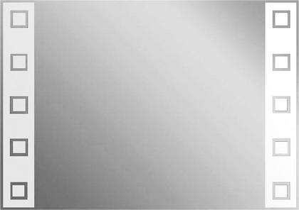 Зеркало 35x50см с декоративным белым принтом Dubiel Vitrum LUSTRO N6 5905241000121