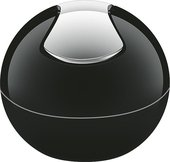 Ведро настольное 1л чёрное Spirella Bowl-Shiny 1014972