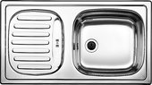 """Кухонная мойка оборачиваемая с крылом, нержавеющая сталь """"декор"""" Blanco FLEX mini 512032"""