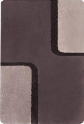 Коврик для ванной 60x90см коричневый Spirella BOND 1015168