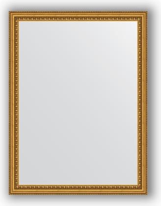 Зеркало 62x82см в багетной раме бусы золотые Evoform BY 1007